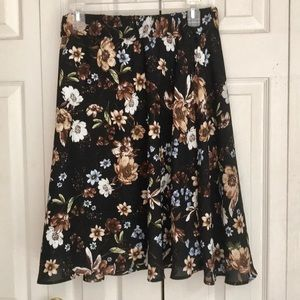 New! Philosophy Woven Skirt - Size Large